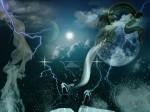 Lua dragão