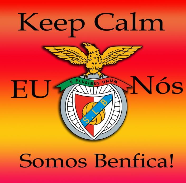 keep calm, eu sou Benfica!